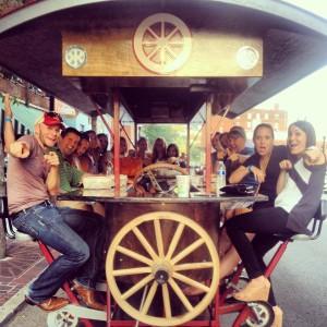 pedal wagon 8
