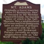 About Mt. Adams Ohio